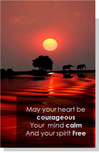 Heart courageous